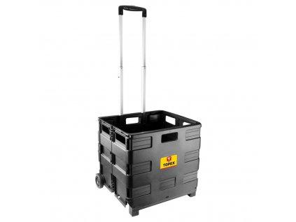 TOPEX  79R306  Transportný vozík, skladací box, nosnosť 35 kg