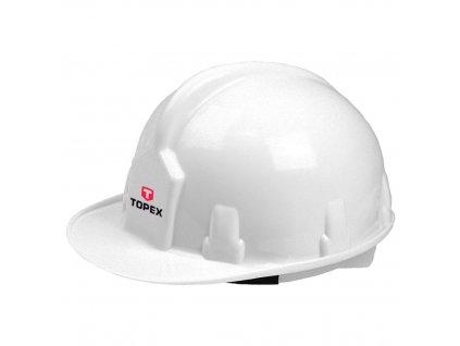 Bezpečnostná helma, biela | TOPEX 82S201