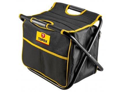 TOPEX  79R447  Stolička s montážnou taškou | TOPEX 79R447