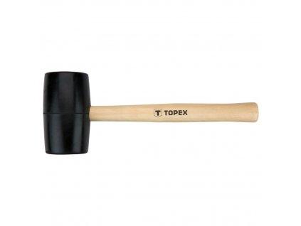 Kladivo gumovéO 58 mm, 450 g, drevená rúčka | TOPEX 02A344