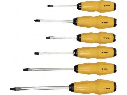 Sada úderových skrutkovačov, 6 ks | TOPEX 39D504