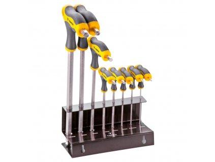 "Šesťhranné kľúče typu ""T"" 2- 10 mm, 8 ks | TOPEX 35D963"
