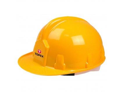 Bezpečnostná helma, žltá | TOPEX 82S200