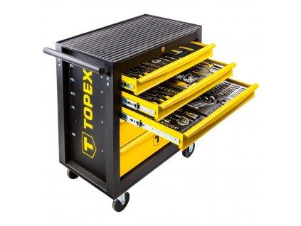 TOPEX Dielenský vozík 455-dielny