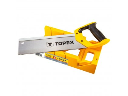 TOPEX  10A710  Back saw 300 mm with mitre box TOPEX  10A710  Back saw 300 mm with mitre box