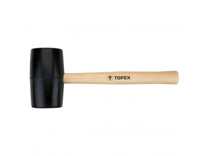 Kladivo gumovéO 63 mm, 680 g, drevená rúčka   TOPEX 02A345