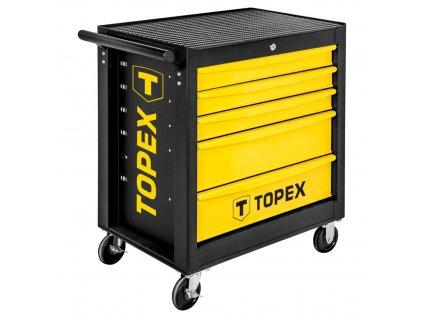 Dielenský vozík, 5 šuflíkový | TOPEX 79R501