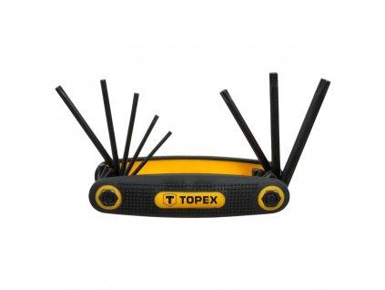 Sada kľúčou torx T10 - T50, 8 ks | TOPEX 35D959