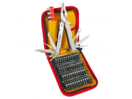 Multifunkční nástroj sada, 74 ks | TOPEX 98Z055