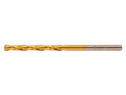 Vrták do kovu, HSS-TiN, 2,4 mm, 3 ks