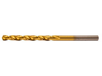 Vrták  do kovu, HSS-TiN, 4,0 mm