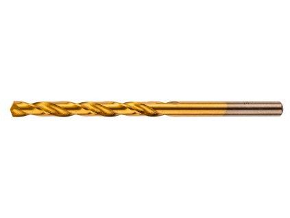 Vrták do kovu, HSS-TiN, 4,8 mm
