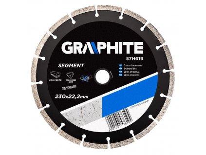 Diamantový kotúč, 230 22.2 mm, segmentový | GRAPHITE 57H619