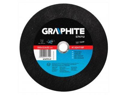 Rezací kotúč na kov, 350 x 32 mm 3.5, 41-A24 T-BF   GRAPHITE 57H712