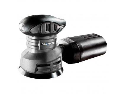 240W vibračná brúska, kotúč 125 mm   GRAPHITE 59G343