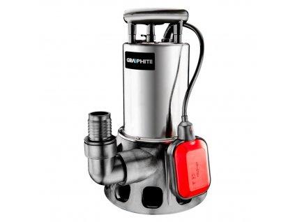 Ponorné čerpadlo na znečistenú vodu 650W | GRAPHITE 59G446