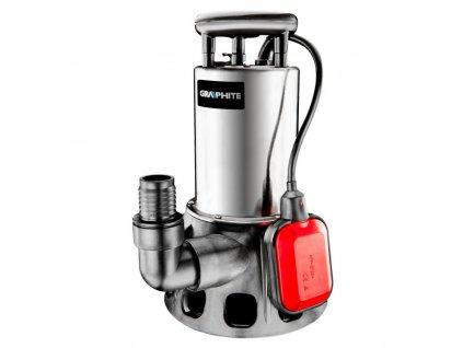 Ponorné čerpadlo na znečistenú vodu 900W | GRAPHITE 59G449