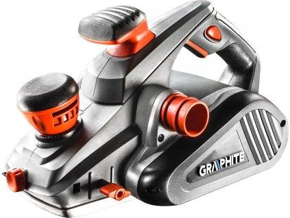 GRAPHITE 1300W elektrický hoblík, šírka hobľovania 110 mm, 59G680 | GRAPHITE 59G680