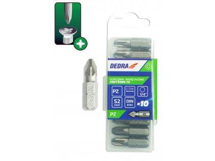 Skrutkové bity Pozidriv PZ3x25mm,10ks plastové puzdro - 18A01PZ30-10