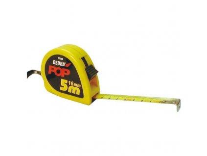Meter 5 m, stop tlačítko, šírka 16 mm - M558