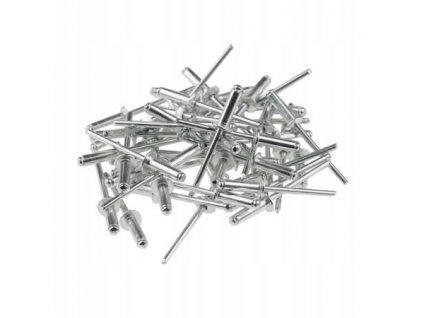 Hliníkové nity 4,8x18mm, 50 ks - 11Y506