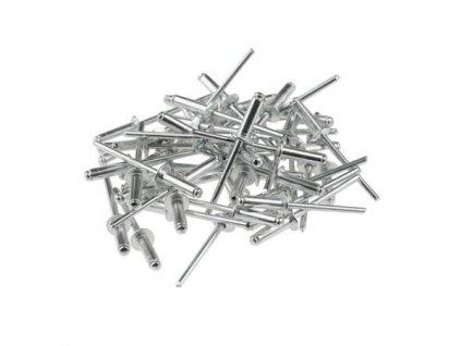 Hliníkové nity 4,8x23mm, 50 ks - 11Y507