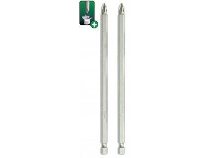 Skrutkové bity Pozidriv PZ2x150mm, 2ks blister - 18A05PZ23-02