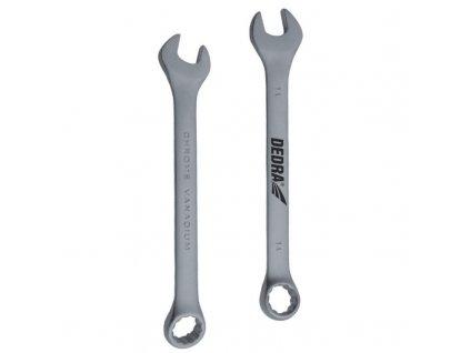 Očko-vidlicový kľúč CrV 7 mm - 1441