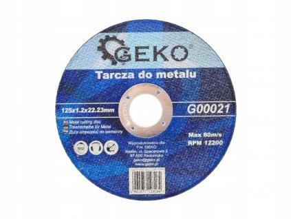Kotúč na kov 125x22,2 mm