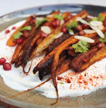 Pečená mrkev s kořením
