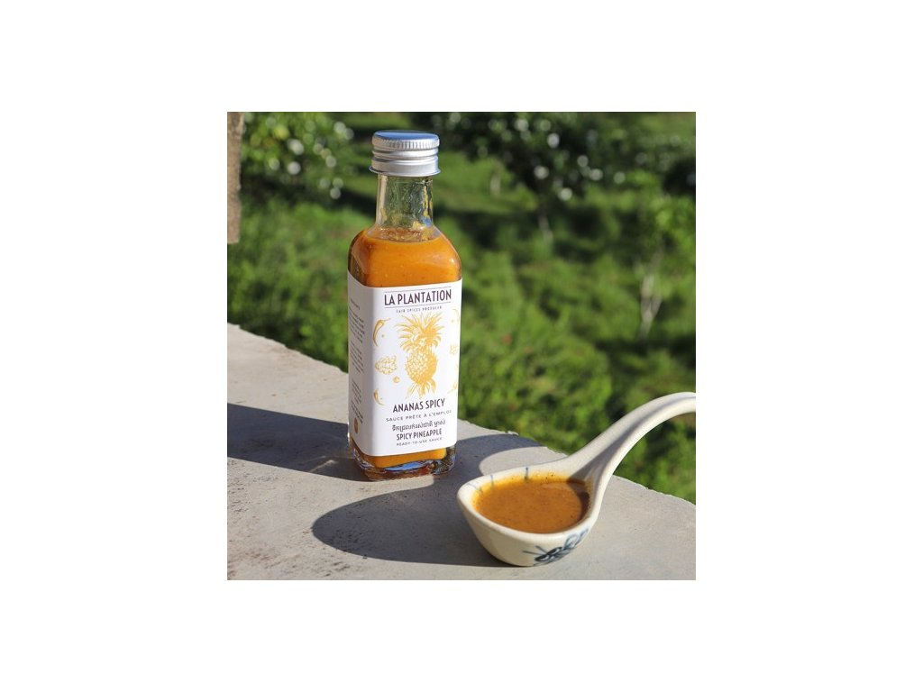 sauce ananas spicy
