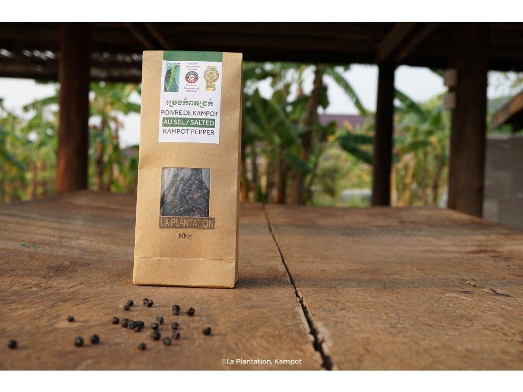 Kampotský pepř fermentovaný 100g