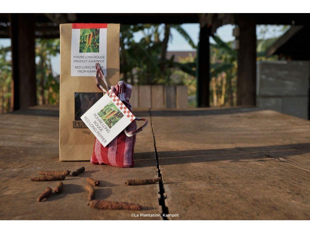 Kampotský pepř dlouhý 100g