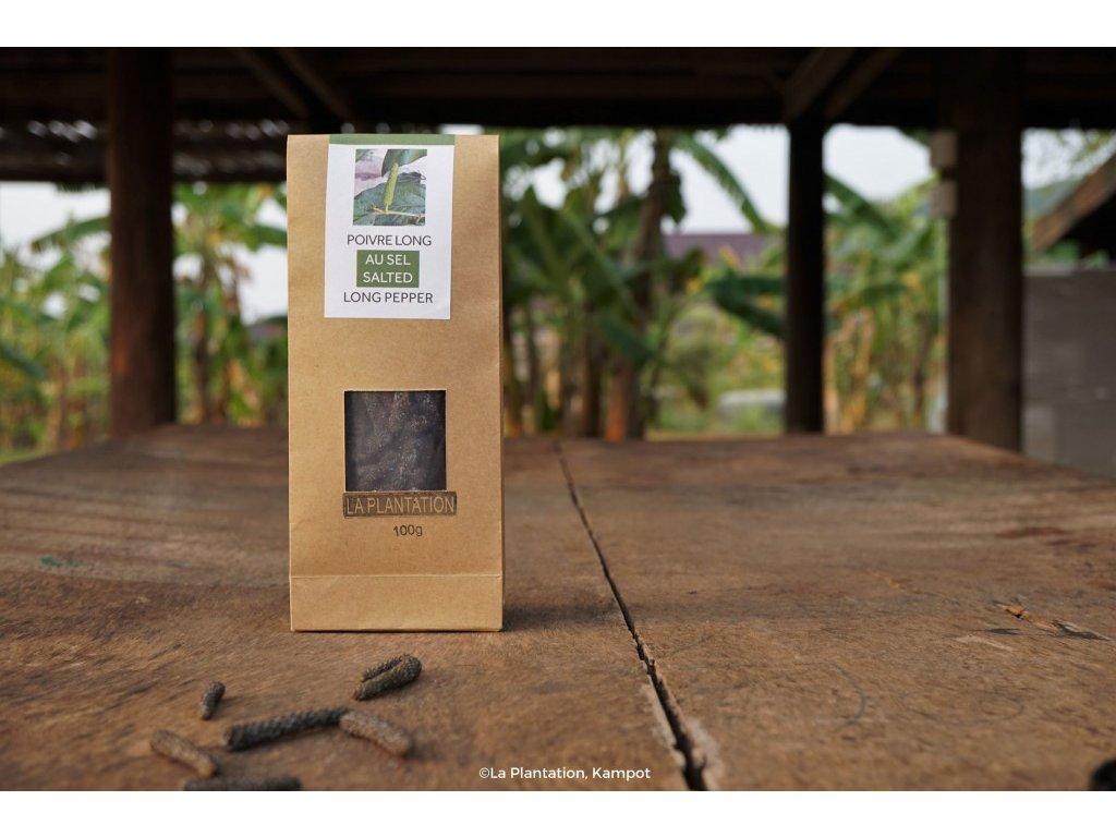 Kampotský pepř dlouhý fermentovaný 500g