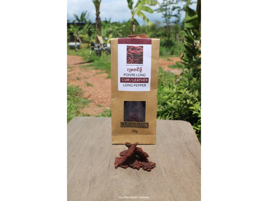 Kampot Leather of Long Pepper 300g