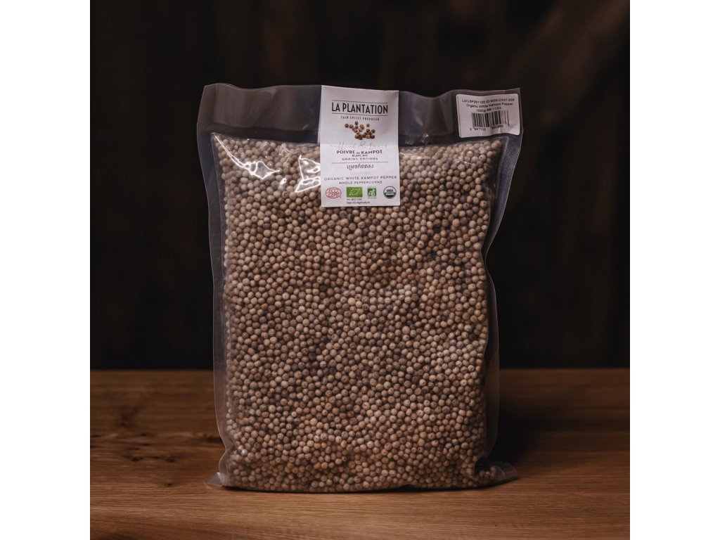 Kampotský pepř bílý 1kg