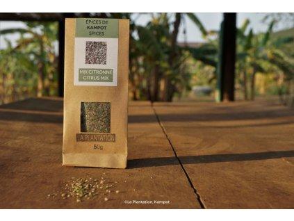 Citrus Mix (Fleur de Sel, kaffir lime a černý Kampot) 50g