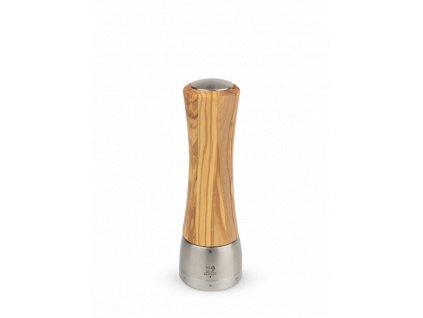 Mlýnek na sůl Peugeot Madras U'Select olivové dřevo/nerez 21cm