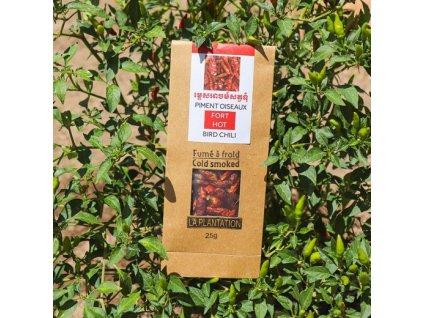 Smoked Bird Chilli z Kambodži (celé) 25g