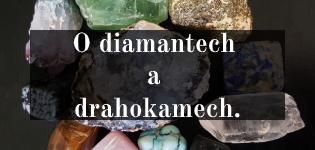 Diamanty a drahokamy