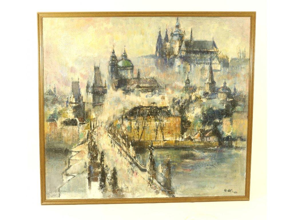 Obraz Praha, T. Astler
