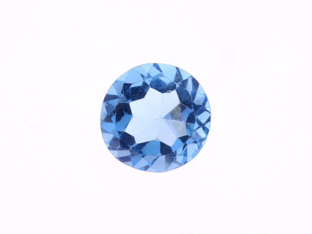 Přírodní Topaz Swiss Blue 4,83 ct