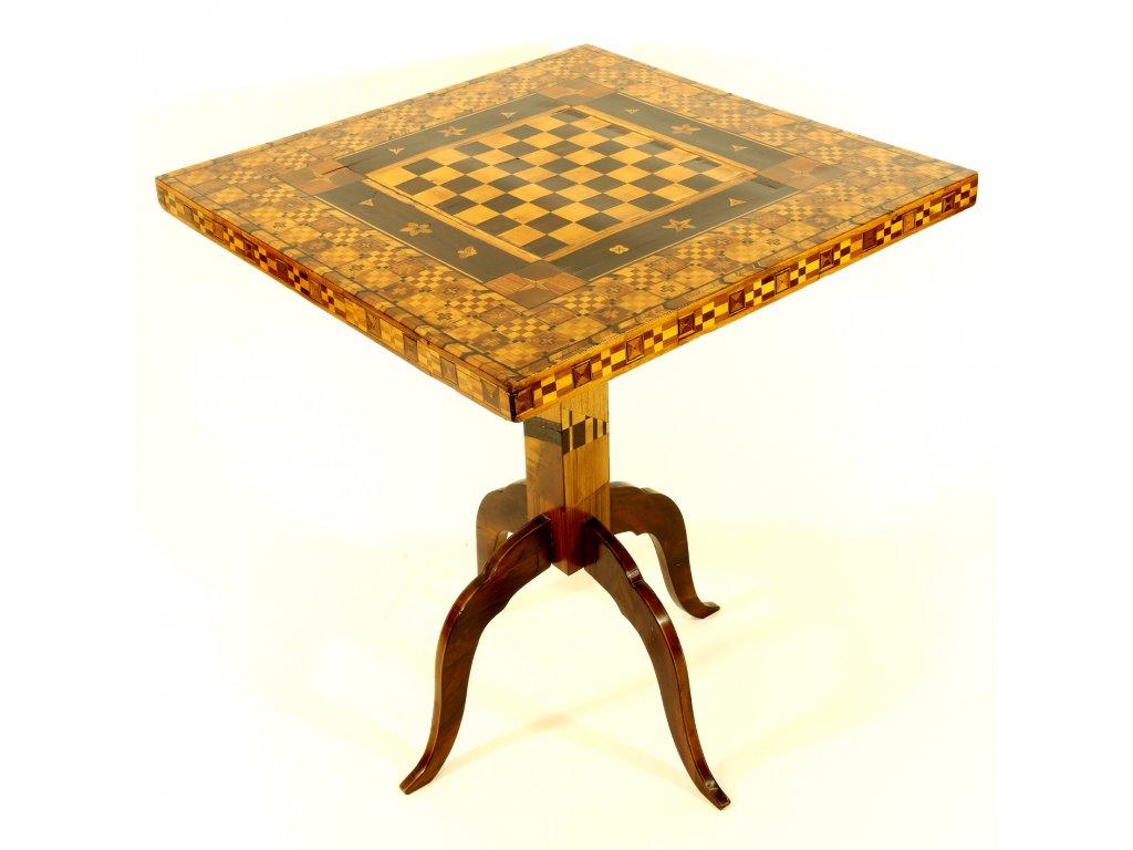 Šachový stolek , 19.stoleti