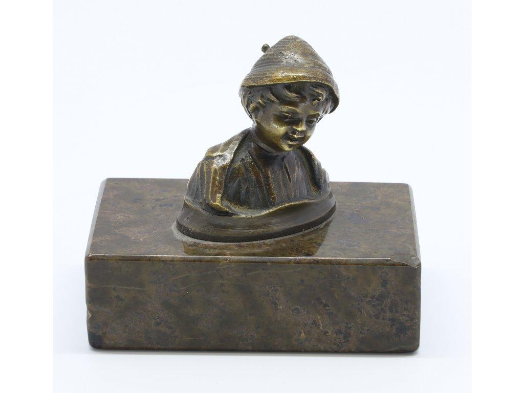 Bronzové těžitko