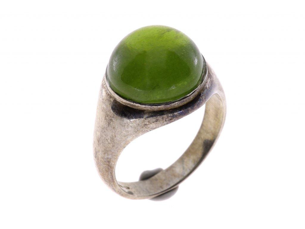 Prsten kámen turmalin