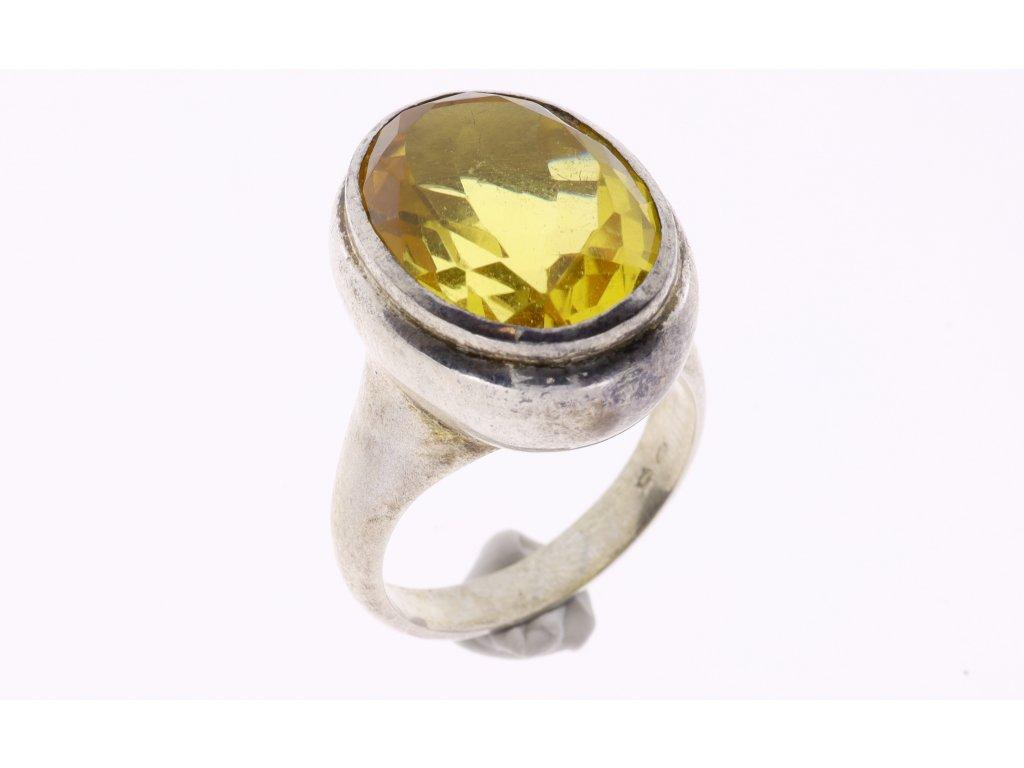 Prsten citrín