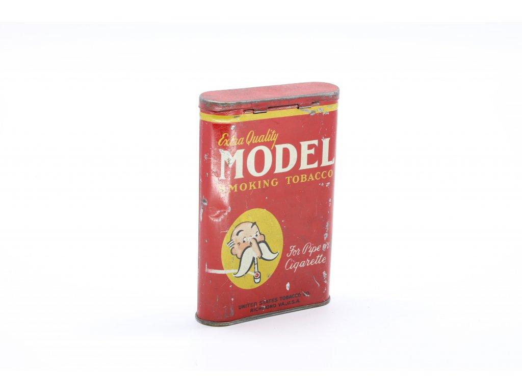 Plechová dóza na tabák