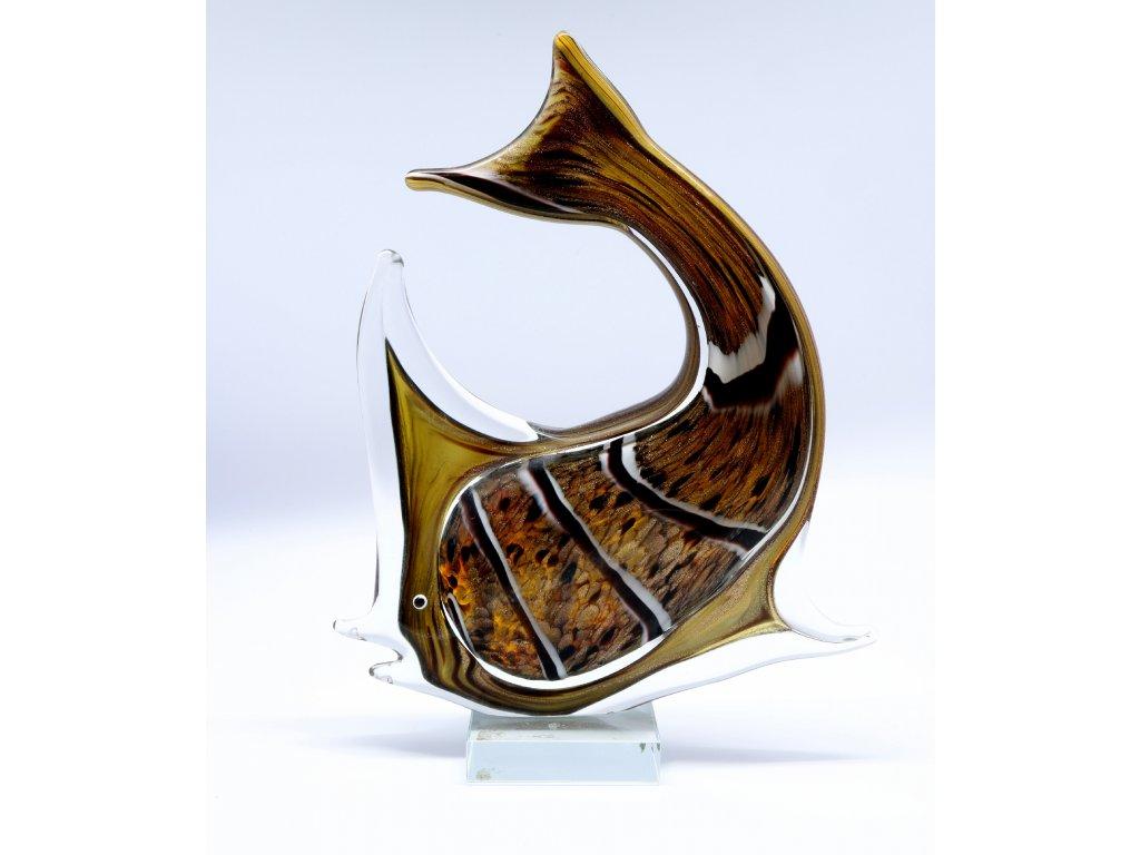 Socha ryby - Murano