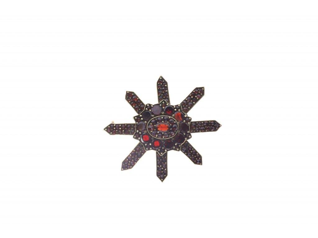 Brož hvězdicového tvaru