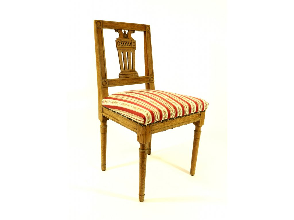 Klasicisní židle, 18. stoleti